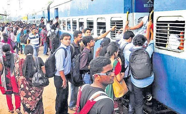 South Indian Railway Yet to Start Passenger Trains in Telangana - Sakshi