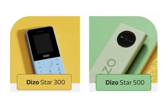 Realme Dizo Star Launched Two Feature Phones in India - Sakshi
