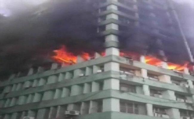 Blaze Engulfed The CBI Building At CGO Complex In New Delhi - Sakshi