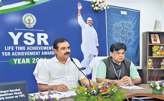 62 YSR Lifetime Achievement, Achievement Awards In 6 categories - Sakshi