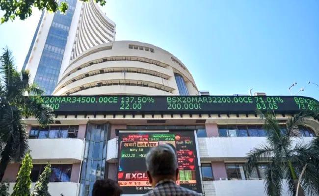 BSE and NSE Stock Market affected By International Negative Market Trends - Sakshi