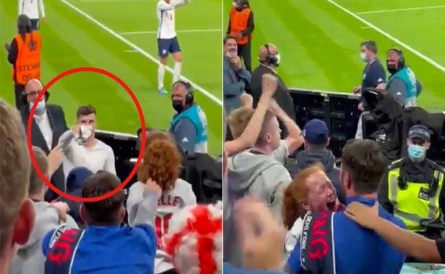EURO 2020: England Footballer Wins Hearts Giving Jersey For Young Girl - Sakshi