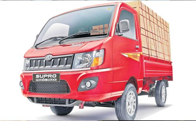 Mahindra Supro Profit Truck Range Launch Price Five lakhs Onwards - Sakshi