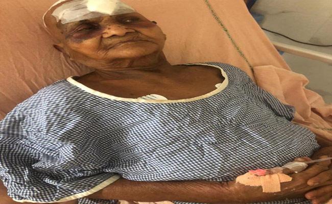 Boy Attack On Grand Mother For Money In Karimnagar - Sakshi