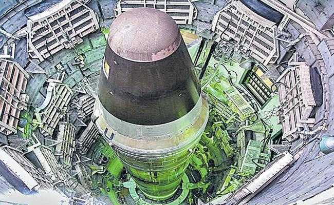 Sakshi Guest Column On New Intercontinental Ballistic Missile Silos In China