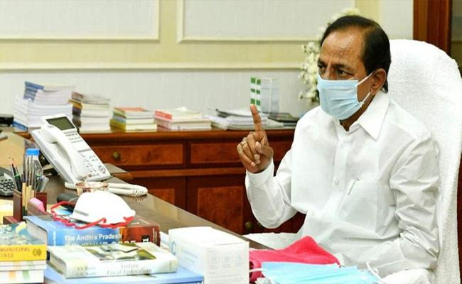 CM KCR Review Meeting On Covid  Situation In Hyderabad - Sakshi
