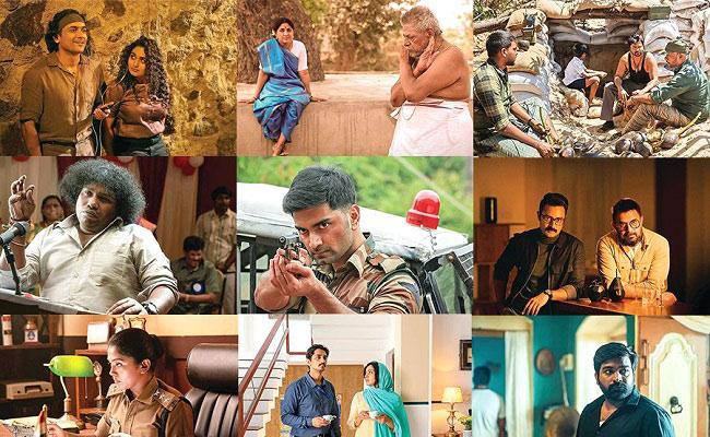Mani Ratnams Navarasa Web Series Images Goes Viral - Sakshi