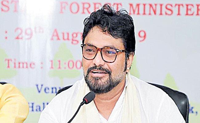 BJP Babul Supriyo announces exit from politics - Sakshi
