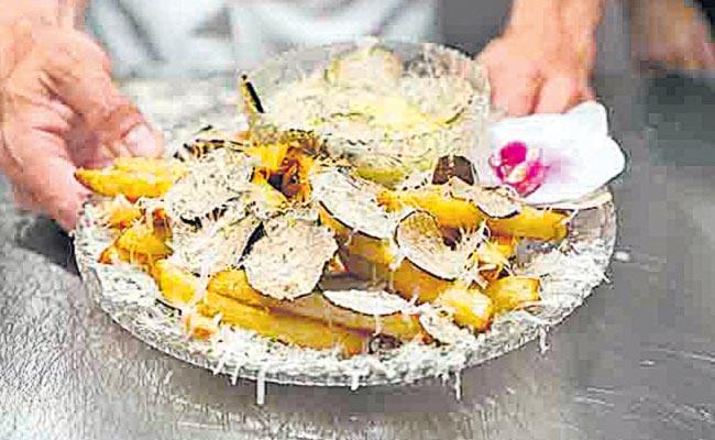 World Most Expensive French Fries Must Sale From New York Restaurant - Sakshi
