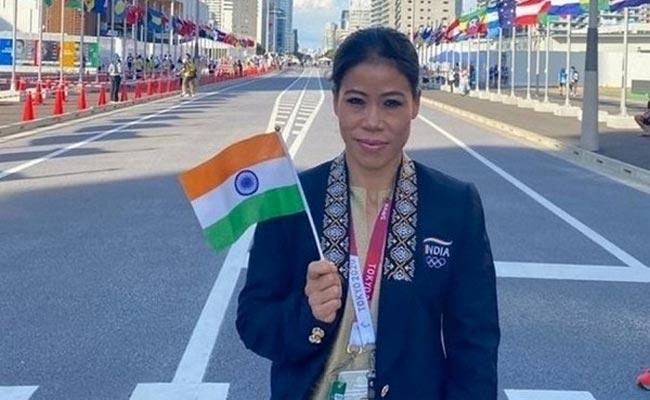 Mary Kom Says I Still Have Age Can Play Till 40 Returning To India - Sakshi