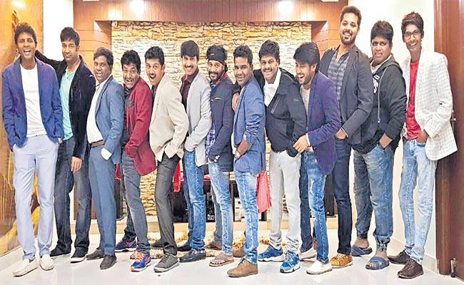 Artists Celebrating Friendship Special Day - Sakshi