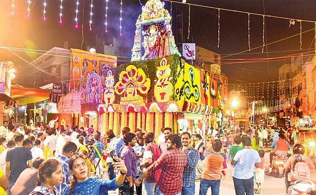Bonalu Festival 2021:Hyderabad All Ammavari Temple Bonalu Celebrations Today - Sakshi