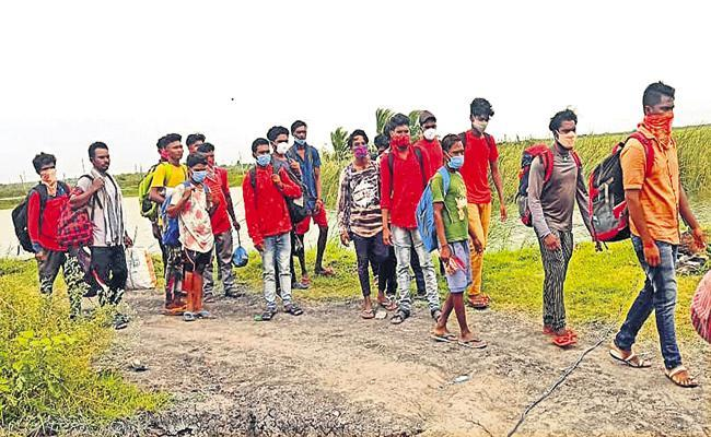 Lankevanidibba Incident Postmortem completed on six burnt alive - Sakshi