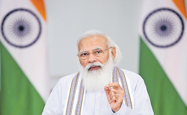 PM Modi Interaction With IPS Probationers Of 2019 Batch - Sakshi