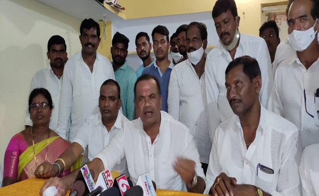 Congress MLA Rajagopal Reddy Comments On Protocol Issue In Nalgonda - Sakshi