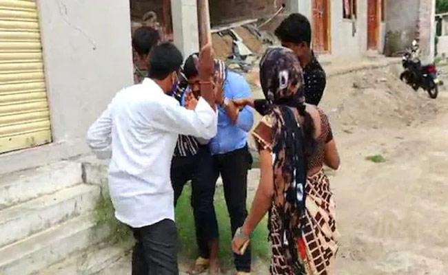 Sanitary Inspector Molested On Woman In Medak  - Sakshi