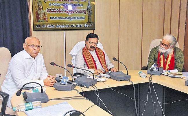 Anjanadri Itself Lord Hanuman Birth Place Historical researchers - Sakshi