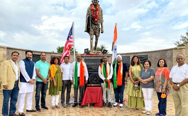 India Independence Day Celebration Held At Atlanta By NRIs - Sakshi