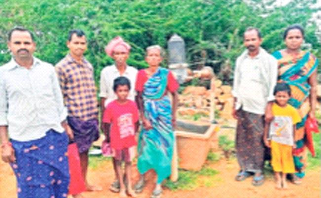 BJP Leader Gopal Reddy Outrage On Poor Peasant Family - Sakshi