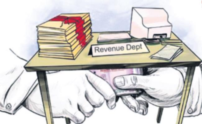 AP Govt Action On Irregularities In Prakasam District Revenue Department - Sakshi