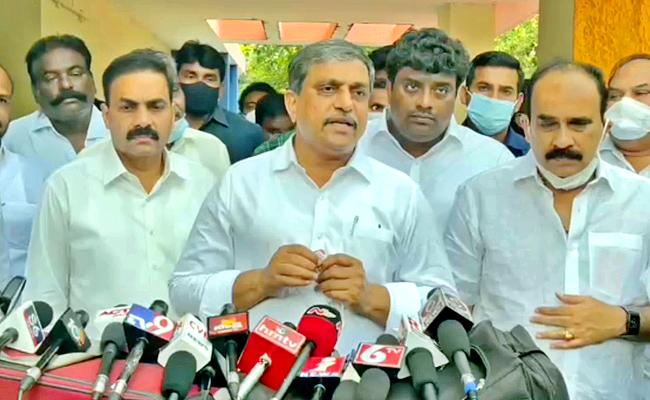 Sajjala Says Review Meeting Conducted With Nellore District MLAs In AP - Sakshi