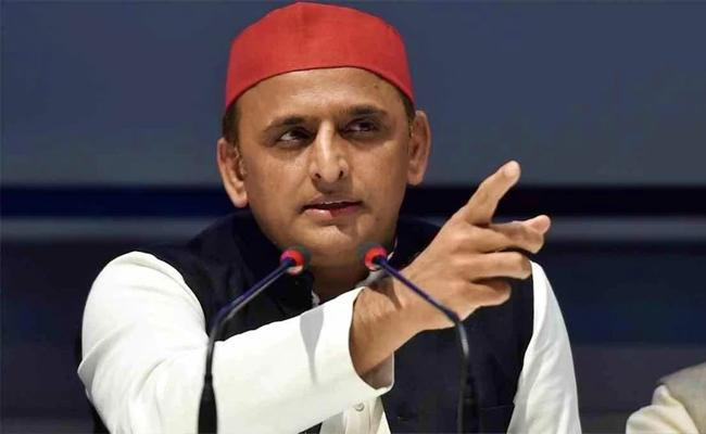 Akhilesh Yadav Party Realistic 350 Seat Aim In Uttar Pradesh - Sakshi