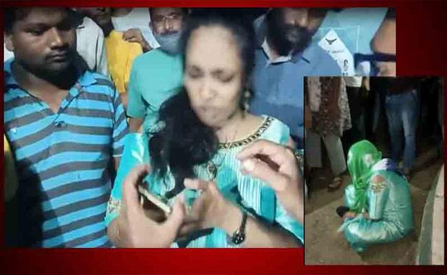 Woman Arrested In Fake Job Scam In Vizianagaram - Sakshi