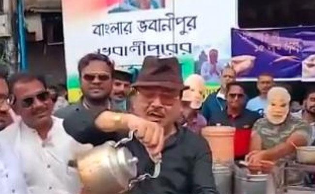 Tmc Leader Madan Mitra Role Of Chaiwala Fix Price Of Cup Rs 15 Lakh - Sakshi