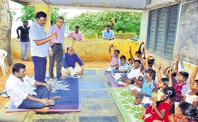 Tribal Welfare Gurukul Schools Institution Special Activity - Sakshi