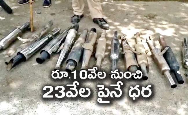 Bikes Modified With Silencers Lead To Noise Pollution Will Face Fine - Sakshi