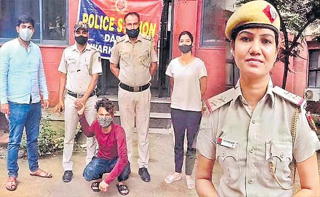 Delhi Police Officer Hunted Down Minor Girl Betrayer Via Social Media - Sakshi