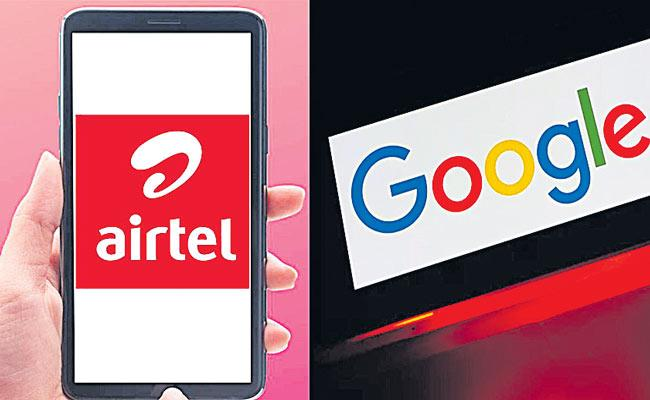 Google invest thousands of crores in Airtel after investing Rs 34,000 crore in Reliance Jio - Sakshi