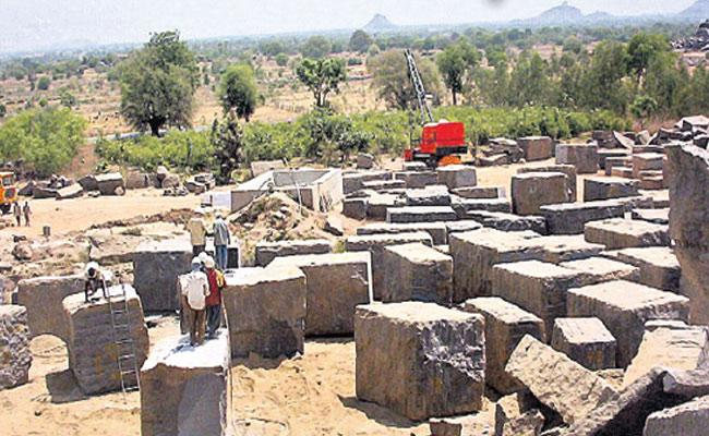 ED Issued Notices To 9 Granite Companies In Karimnagar - Sakshi