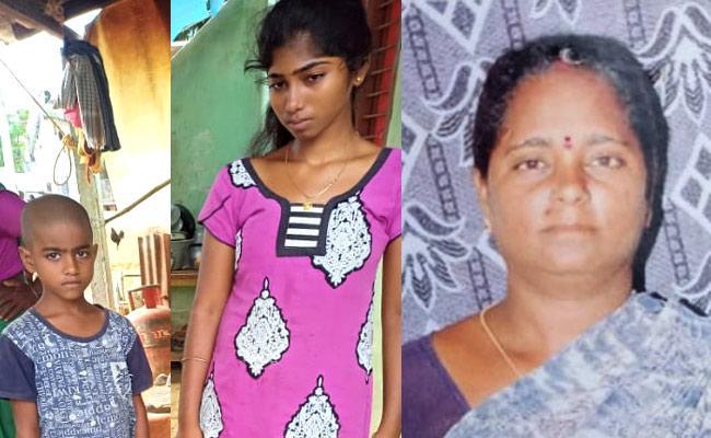 Children Are Alone After Parents Deceased In Chittoor District - Sakshi