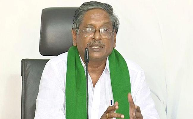 MVS Nagi Reddy Fires On Chandrababu Over Farmers Issue - Sakshi