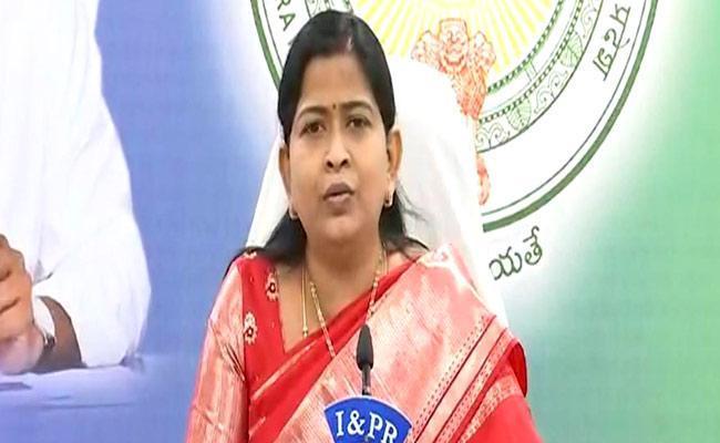 AP: Minister Taneti Vanitha Serious On Lokesh Over Disha Act - Sakshi