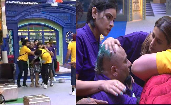 Lobo Taken To Medical Room As He Collapses During The Task - Sakshi
