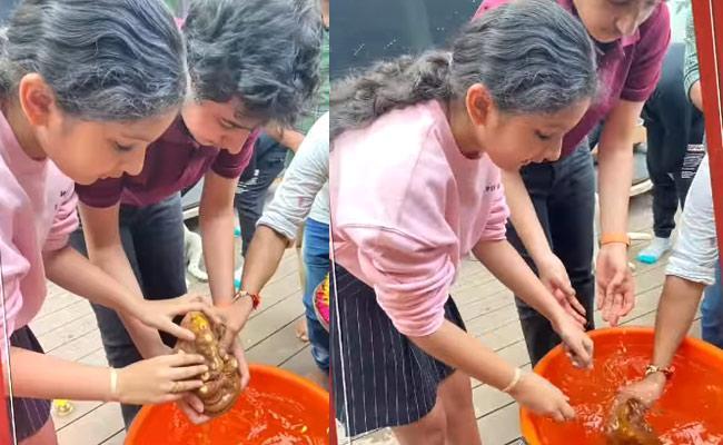 Namrata Shirodkar Shares Immersion of Ganesh Video - Sakshi