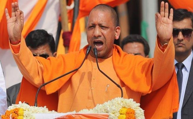 Oppositions Slams UP CM Yogi Adityanath For Abba Jaan Remark - Sakshi