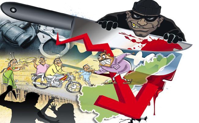 Andhra Pradesh Good In Crime control - Sakshi