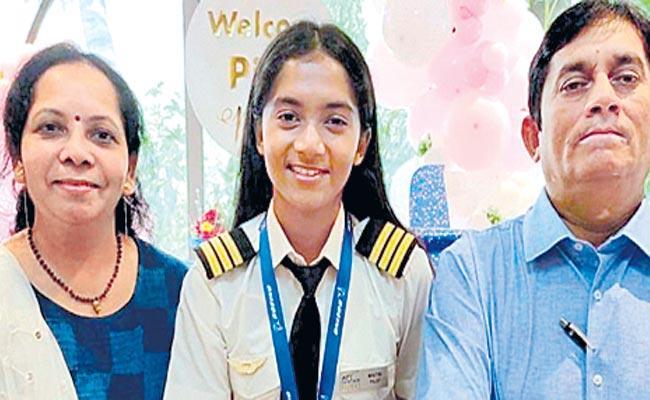 Maitri Patel: India Youngest Commercial Pilot Inspirational Journey - Sakshi