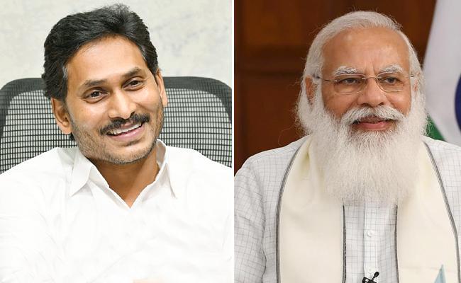 AP CM YS Jagan Mohan Reddy Wishes PM Narendra Modi On His Birthday - Sakshi