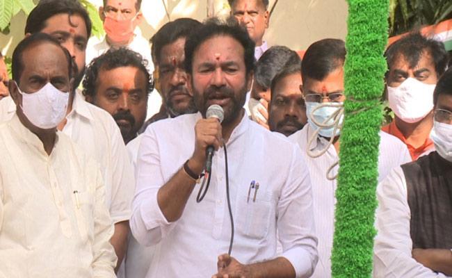 Kishan Reddy Demands Telangana Liberation Day Celebration On 17th September - Sakshi