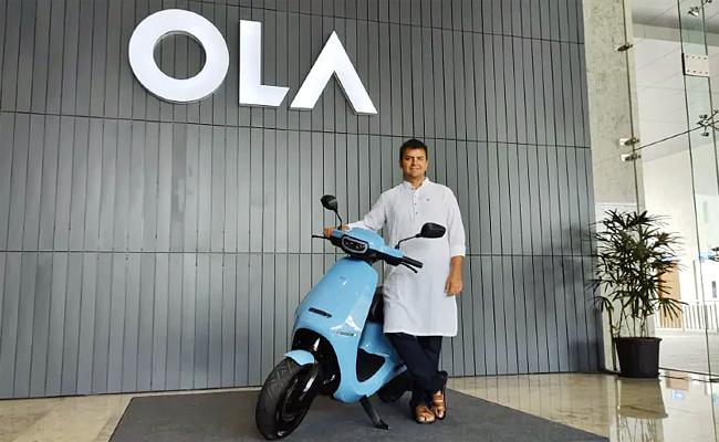Ola Electric Sells Scooters: Rs 1100 Crore In Just Two Days says Ola - Sakshi