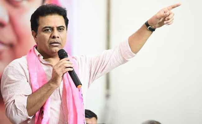 KTR Comments On Revanth Reddy Third Rated Crimnial Over Shahsitaroor Issue - Sakshi