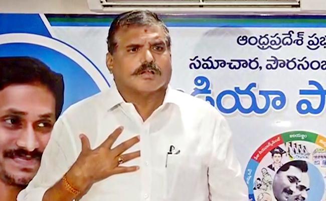 Botsa Satyanarayana Slams On TDP Over Parishad Elections In Vijayawada - Sakshi