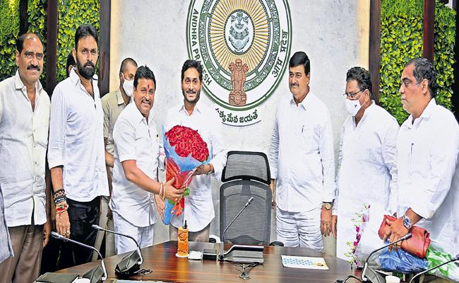 CM YS Jaganmohan Reddy Comments On Parishad Election Results Camp Office - Sakshi