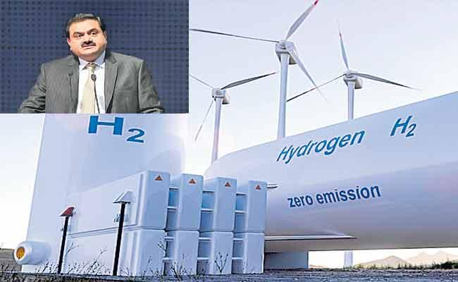 Adani Group To Invest 1. 5 lakh Crores In Renewable Energy - Sakshi