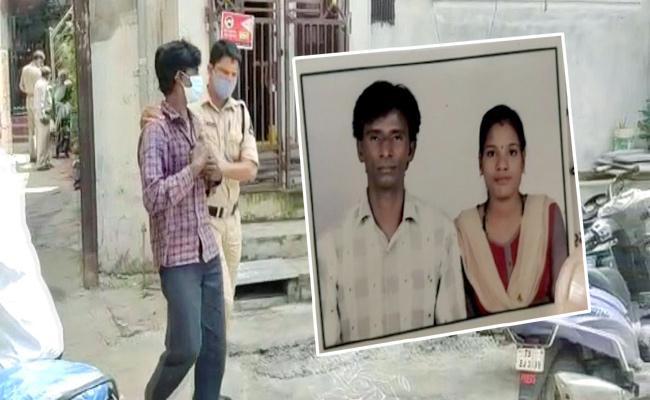 Saidabad Poosala Basti Wife And Husband Dispute Kills Newborn Baby - Sakshi
