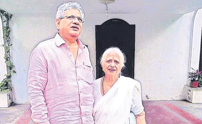 Sitaram Yechury Mother Kalpakam Yechury Passed Away - Sakshi